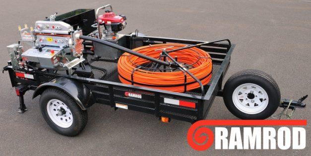 Ramrod Powered Duct Rod Pusher