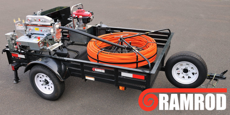 Ramrod Powered Duct Rod Pusher