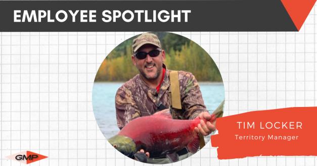 March Employee Spotlight- Tim Locker.