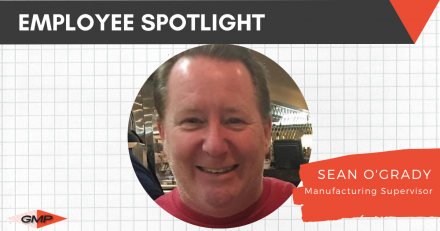 April Employee Spotlight- Sean O'Grady.