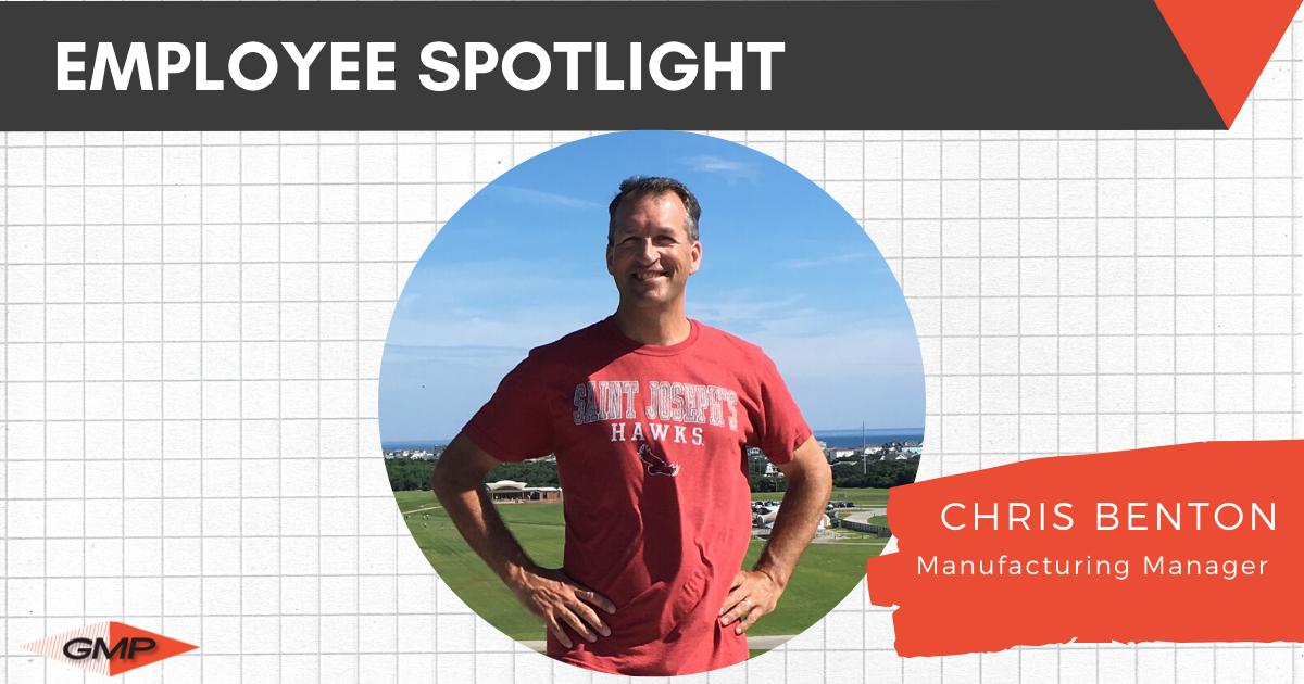 May Employee Spotlight- Chris Benton
