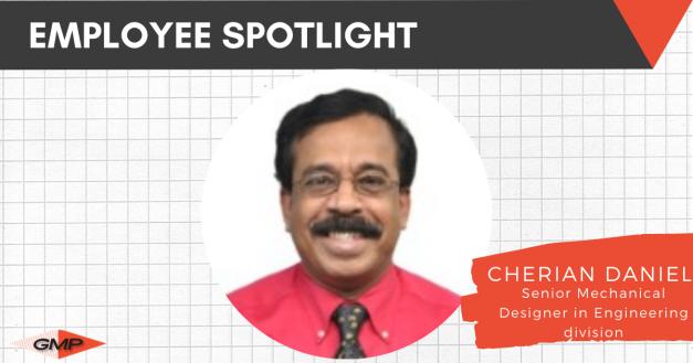 Employee Spotlight: Cherian Daniel